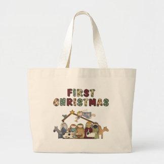 Christmas Nativity Christmas Tote Bag