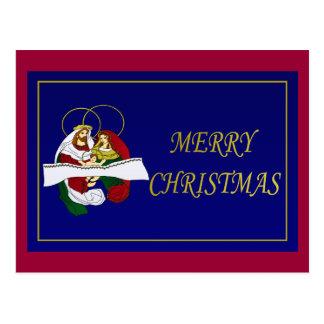 Christmas Nativity Post Card