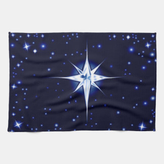Christmas Nativity Star Tea Towel