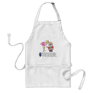 Christmas Negligee Standard Apron