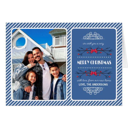 Christmas New Address / Moving Announcements