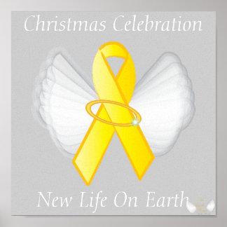 Christmas New Life On Earth-Customize Poster