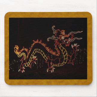 Christmas New Year Dragon  2016 Mouse Pad