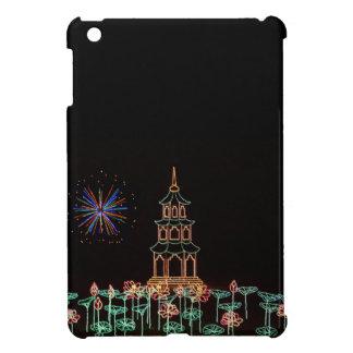 Christmas New Year Fireworks Flowers 2016 iPad Mini Case