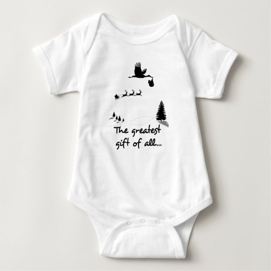 Christmas Newborn Gift For Expecting Parents Baby Bodysuit