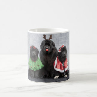Christmas Newfies Coffee Mug