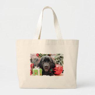 Christmas - Newfoundland - Izzie Canvas Bag