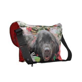Christmas - Newfoundland - Izzie Courier Bags