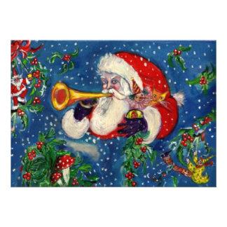 CHRISTMAS NIGHT HOLIDAY PARTY CUSTOM INVITES