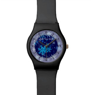 Christmas Night Snowfall Wristwatch