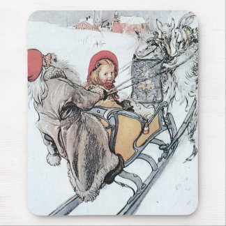 Christmas Nisse and Kirsti Mouse Pad