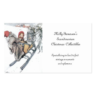Christmas Nisse and Kirsti Pack Of Standard Business Cards