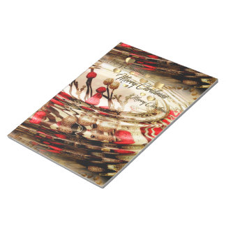 Christmas Notebook Notepad