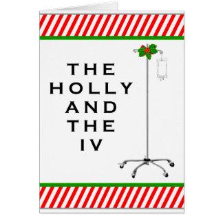 Christmas Nurse Card