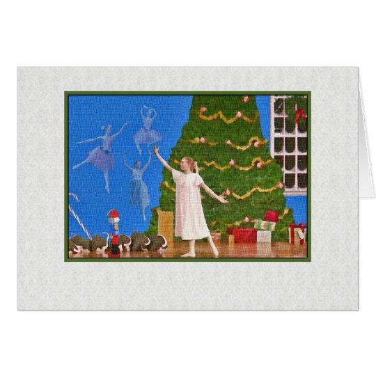 Christmas, Nutcracker Ballet Card