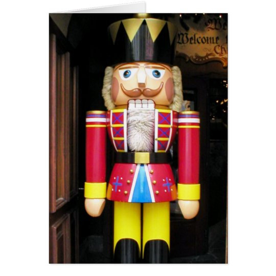 CHRISTMAS NUTCRACKER CARD