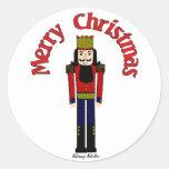 Christmas Nutcracker Stickers