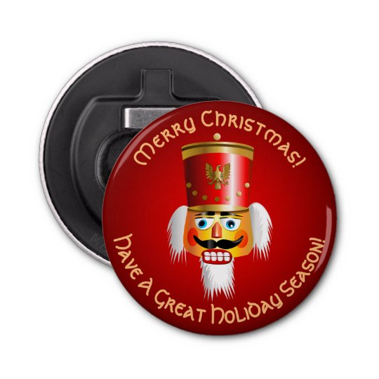 Christmas Nutcracker Toy Soldier Bottle Opener