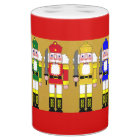 Christmas Nutcrackers Soap Dispenser And Toothbrush Holder