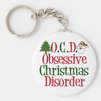 Christmas Obsession Key Ring