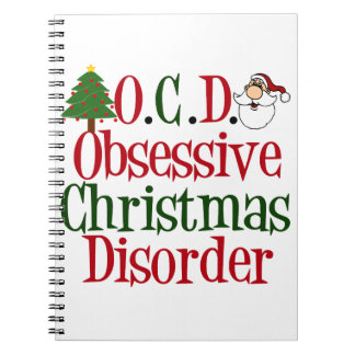 Christmas Obsession. Notebooks