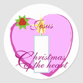 Christmas Of The Heart Sticker-Customize