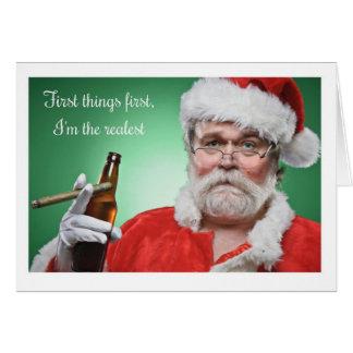 Christmas - OG Santa Card