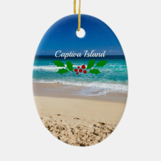 Christmas on Captiva Island, Florida Christmas Ornament