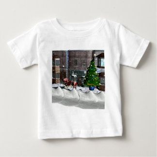 Christmas on Town Square Baby T-Shirt
