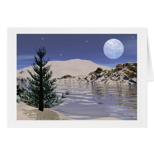 """Christmas or Solstice Card - """"Solstice Blessings"""""""