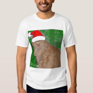 Christmas Orange Tabby Kitten Tshirts