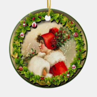 Christmas Ornament 043. Vintage Style.