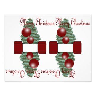 Christmas Ornament 3D box 21.5 Cm X 28 Cm Flyer