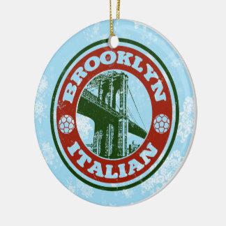 Christmas Ornament Brooklyn Italian American