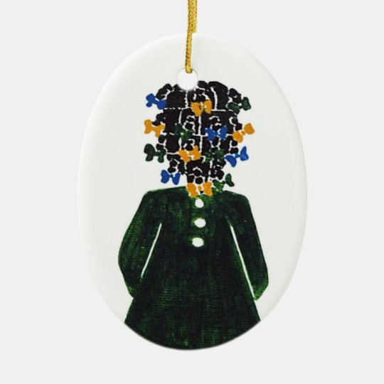 Christmas Ornament by Rose HillThe Little Coloured