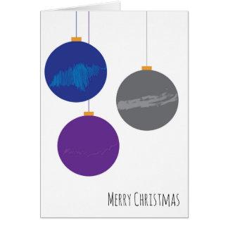 Christmas Ornament Christmas Card