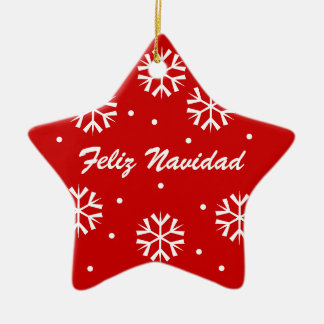 Christmas Ornament Feliz Navidad
