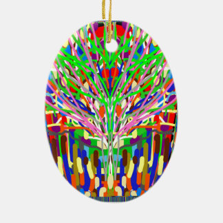 Christmas Ornament Flairs Fires Tree abstract  DIY