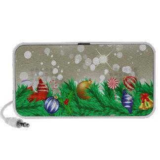 Christmas Ornament Glitter Travelling Speaker