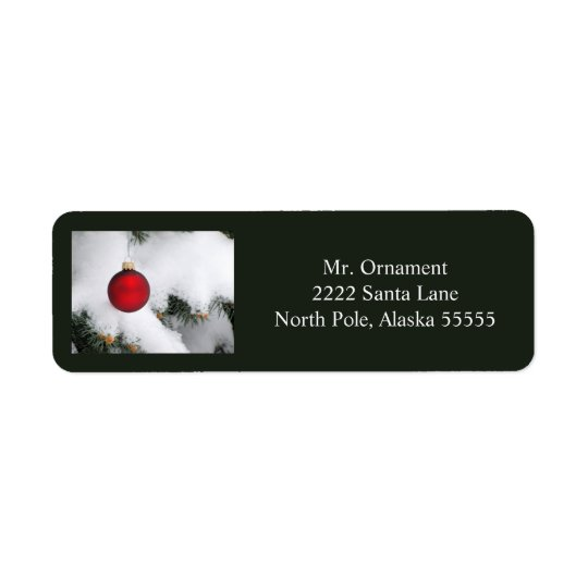 Christmas ornament label 3 2016
