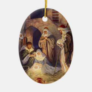 Christmas Ornament Nativity Scence
