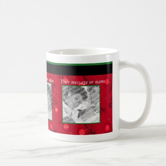 Christmas Ornament Photo Mug