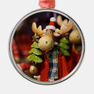 Christmas ornament Santa Claus Moose