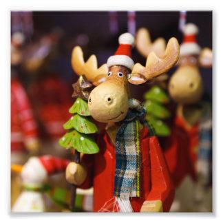 Christmas ornament Santa Claus Moose Photo
