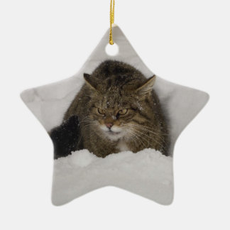 Christmas ornament - Scottish wildcat