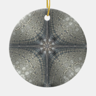 Christmas ornament with a star and Nativity