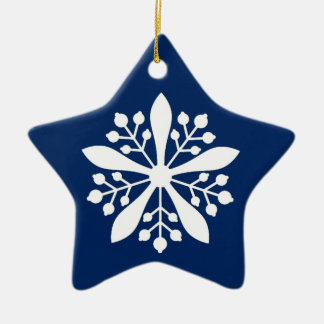 Christmas ornament with white star of Manchukuo