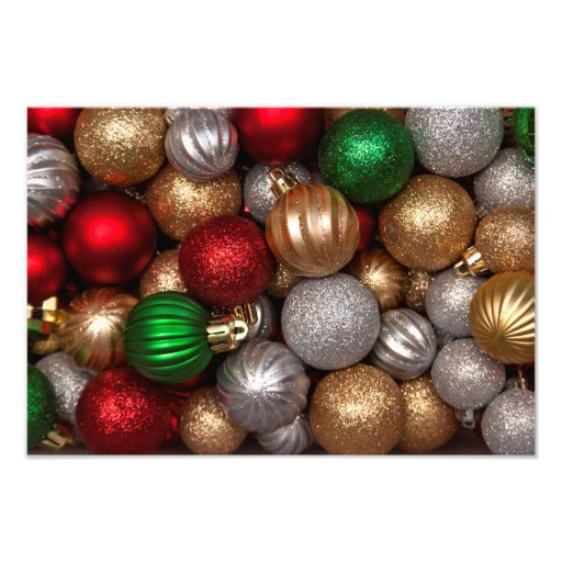 Christmas Ornaments 2 Photo Print