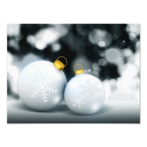 Christmas Ornaments Advent Ball Snow Photo Art