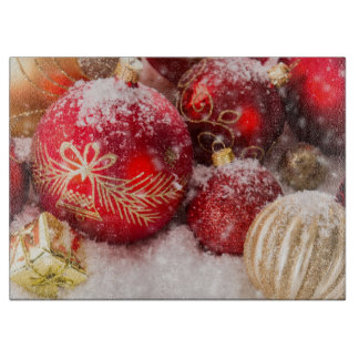 Christmas Ornaments Cutting Board